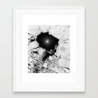 cracked Framed Art Prints featuring Cracked by Andrea Orlic