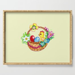 EASTER BASKET Serving Tray
