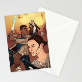 The Force Awakens: Light Side Stationery Cards