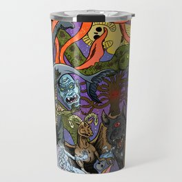Cryptid Creatures and Mysterious Monsters Travel Mug