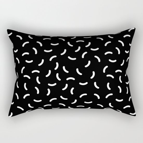 Memphis pattern 37 Rectangular Pillow