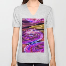 Eddies In The Etheric Variations On A Theme Unisex V-Neck