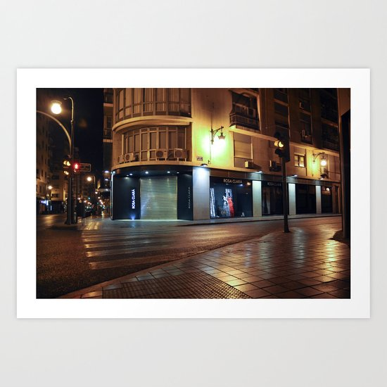 GHOSTHOUR - Valencia - Spain Art Print
