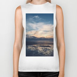 Cape Cod Sunset Biker Tank