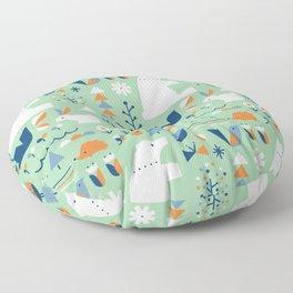 Forest animals Floor Pillow