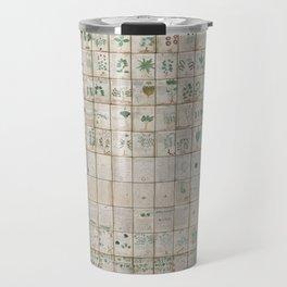 The Complete Voynich Manuscript - Natural Travel Mug
