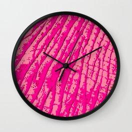 Pink Elephants on Parade Wall Clock