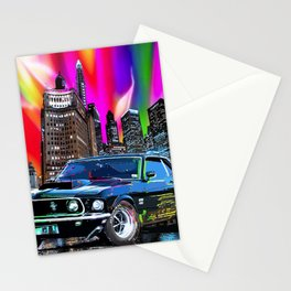 colorful muscle Stationery Cards