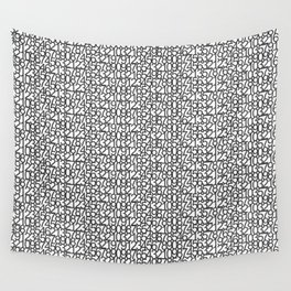 Numbers 0 to 9 Wall Tapestry