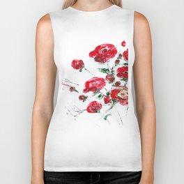 Bouquet of roses Biker Tank