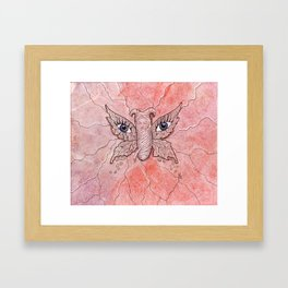 Cocoon Baby Framed Art Print
