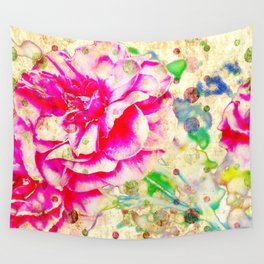Floral theme [spring bollywood) Wall Tapestry