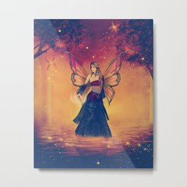 The Queen of Faerie Metal Print
