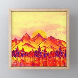 Landscape #05 Framed Mini Art Print