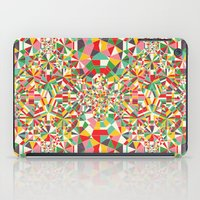 maps iPad Cases featuring Colour Maps by Candy Joyce