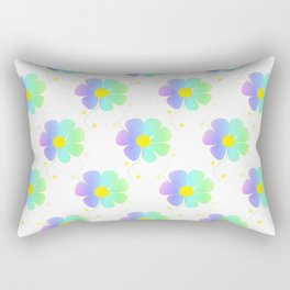 Blossom Repeat Rectangular Pillow