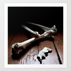 tired bones Art Print