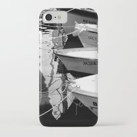 boats iPhone & iPod Cases featuring boats by habish