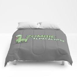 Zombie Alpacalypse Comforters