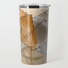 Snakes and Ladders Travel Mug