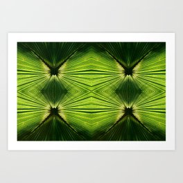 Palmetto Prism Art Print