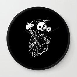 Grim Skater Wall Clock