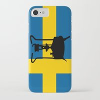 sweden iPhone & iPod Cases featuring Sweden flag | Pressure stove by mailboxdisco