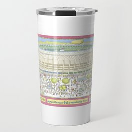 Mineirao Soccer Arena, Belo Horizonte, Brazil Travel Mug