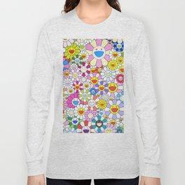 mukarami flowers Long Sleeve T-shirt