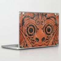 majoras mask Laptop & iPad Skins featuring Mask by Guilherme Rosa // Velvia