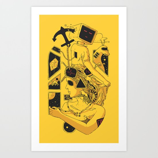 In Too Deep Art Print
