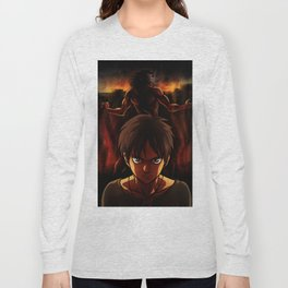 Eren Jaeger Artwork Long Sleeve T-shirt