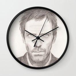 Dr House/Hugh Laurie Wall Clock