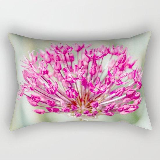 Ornamental Onion Flower Rectangular Pillow