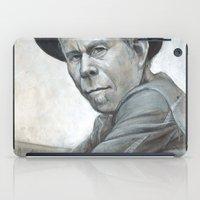 tom waits iPad Cases featuring Tom Waits by Lars-Erik Robinson