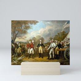 The Surrender of General Burgoyne Mini Art Print