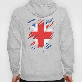 Torn Flag UK Hoody