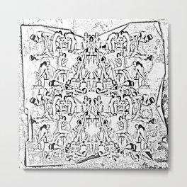 Kamasutra Metal Print