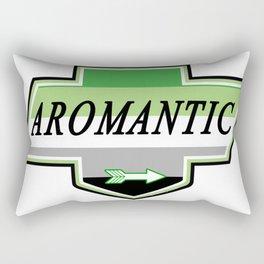 Identity Stamp: Aromantic Rectangular Pillow