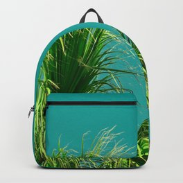 Palms on Turquoise Backpack