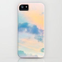Unicorn Pastel Clouds #6 #decor #art #society6 iPhone Case