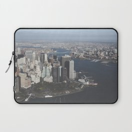 NYC Downtown Aerial Laptop Sleeve