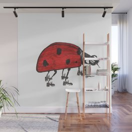 Ladybug Wearing Tap Shoes Gotta Dance Wall Mural