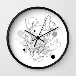 Digital Gray Vector of the Thrive Hopes! Wall Clock