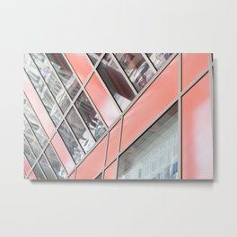 Thompson Center - Chicago Architecture Metal Print