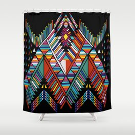 Geo Sushi Shower Curtain