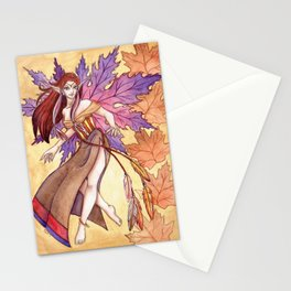 As The Leaves Fall Stationery Cards