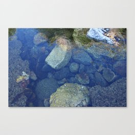 Rocks Under Water I Canvas Print