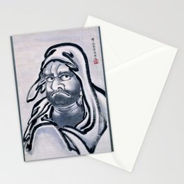 12,000pixel-500dpi - Kawanabe Kyosai - Daruma - Digital Remastered Edition Stationery Cards