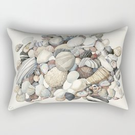 Sea shore of Crete Rectangular Pillow